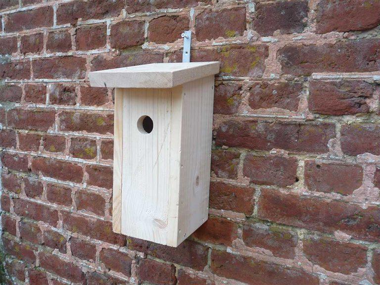 nichoir à mésanges en bois